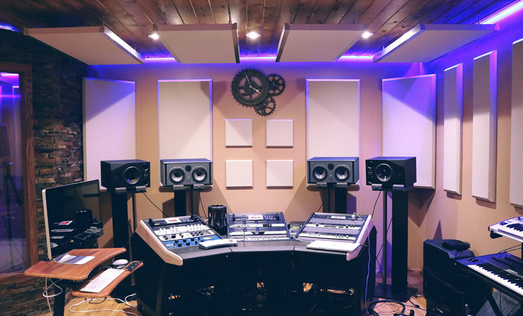Mixing and mastering studio